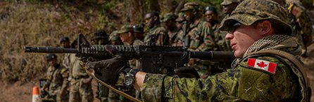 Canadian Military Troops