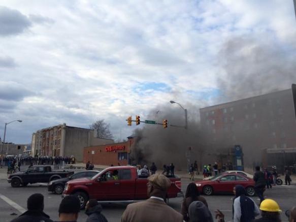 CVS Drug Store Burns