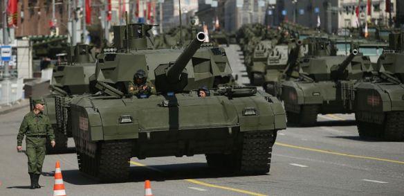 M1A2 USA Tank Column