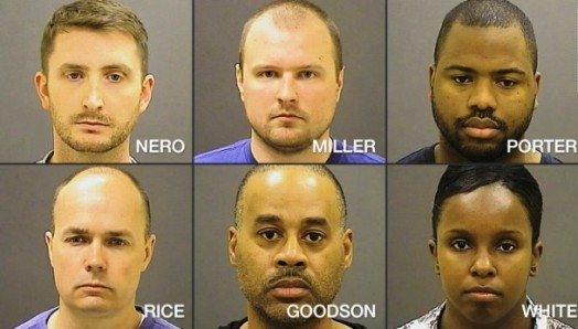 murderers of Freddie Gray