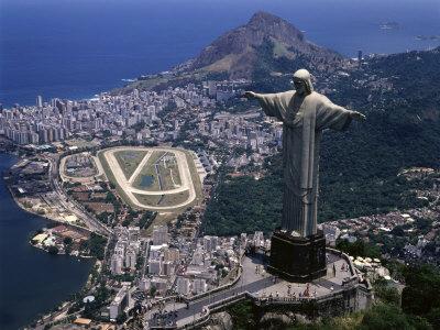 Statue Brazil on Christ The Redeemer Statue Rio De Janeiro Brazil