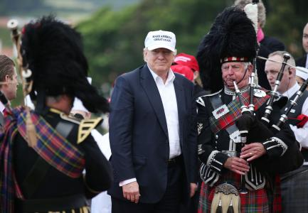 Trump at Turnberry