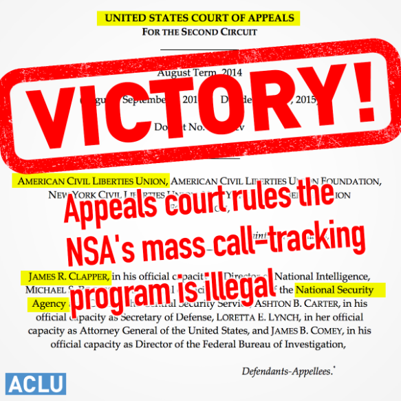 VICTORY Against NSA!