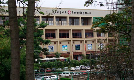 Westgate mall in Nairobi