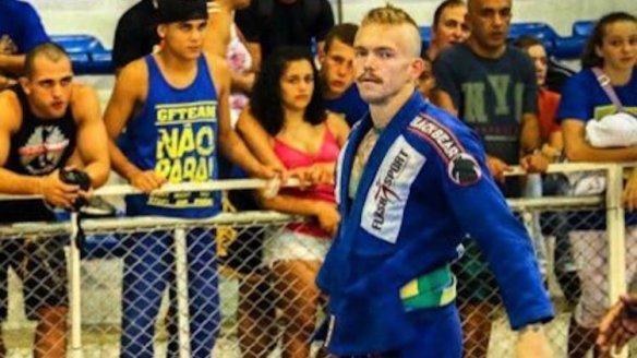 Jason Lee Jiu Jitsu competitor