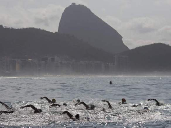 Rio, Brazil, Athletes concerned about sewage in water