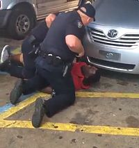 Alton Sterling just before being shot