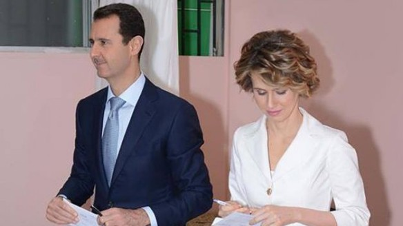 syrian-president-assad-and-wife